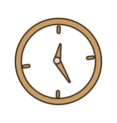 Cartoon clock time business money design vector