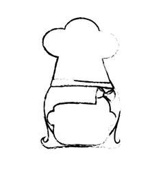 Cartoon kid icon vector