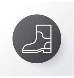Gardening shoes icon symbol premium quality vector