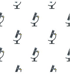 Medical microscope pattern seamless vector
