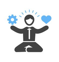 stress management skills vector image