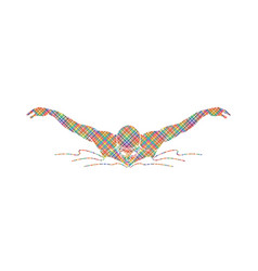 swimming butterfly man swimming vector image vector image