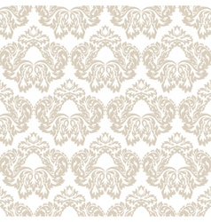 Vintage classic rococo floral ornament pattern vector