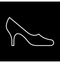 Women shoe vector