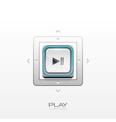 Play button design vector