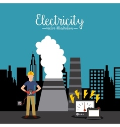 Electricity service vector