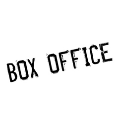Box office rubber stamp vector