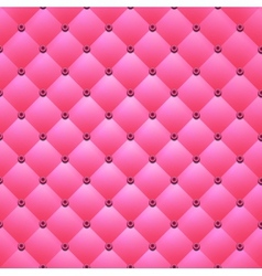 Pink background from squares and buttons vector