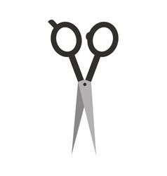 barbershop scissor isolated icon vector image vector image