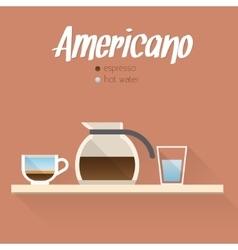 Coffee menu icon vector image vector image