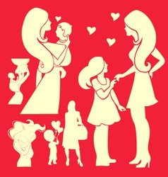Happy Mother 2 vector image