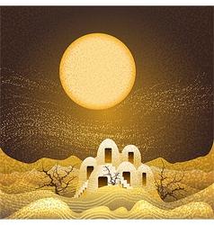 Sandstorm vector image vector image