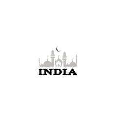 the indian republic banner for your design vector image