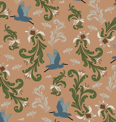 Vintage background pattern vector