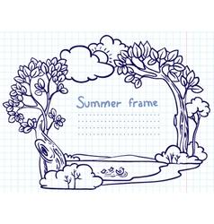 sketchy doodle vector image