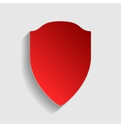 Shield sign vector