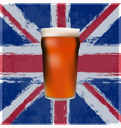 British Pint vector image vector image
