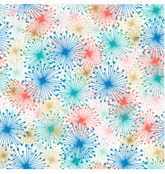 Firework background light seamless pattern for vector