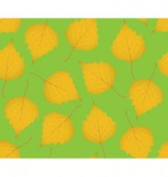 leaf pattern vector image