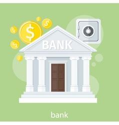 Bank office symbol vector image vector image