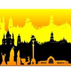 Kyiv vector image