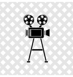 video camera design vector image