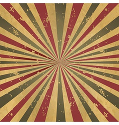 Vintage Burst Background vector image vector image