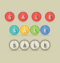 Round long shadow sale style vector