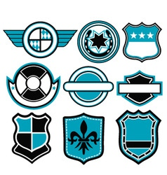Badge symbol vector