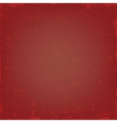 Vintage red grunge texture or background vector