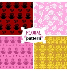 Floral pattern 4 vector