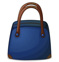 A handy blue bag vector
