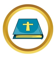 Book of the bible icon vector