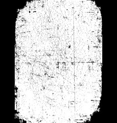 Grunge texture with scratched effect vector