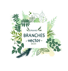 Nature forest vector