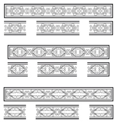 Decorative bands vector