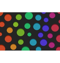 Color holes background vector image vector image