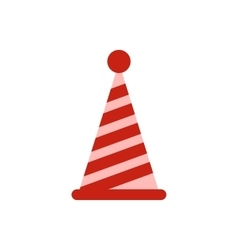 Party hat icon flat style vector image