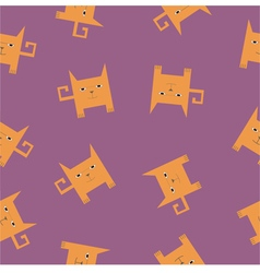 Square cats vector