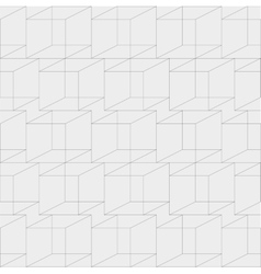 Cubic geometric seamless texture vector
