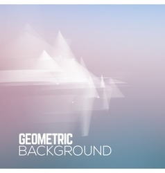 Sci fi geometric polygonal abstract background vector