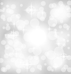 Abstract gray background with lights vector