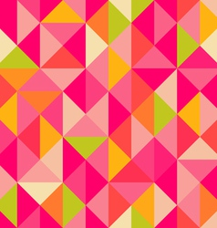 Triangles pattern vector image vector image