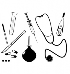 medical tool vector image