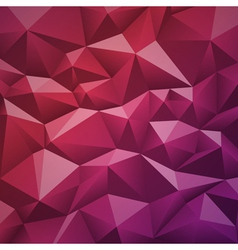 Geometric abstract low-poly paper background vector image