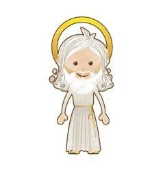 god representation icon image vector image