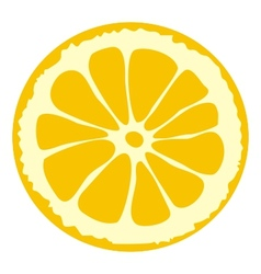 Lemon slice vector