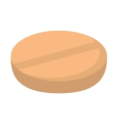 Pill isolated icon design vector