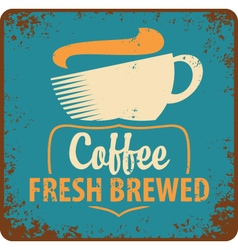 Coffee retro vector