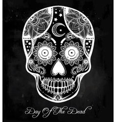 Day of the Dead sugar scull vector image vector image